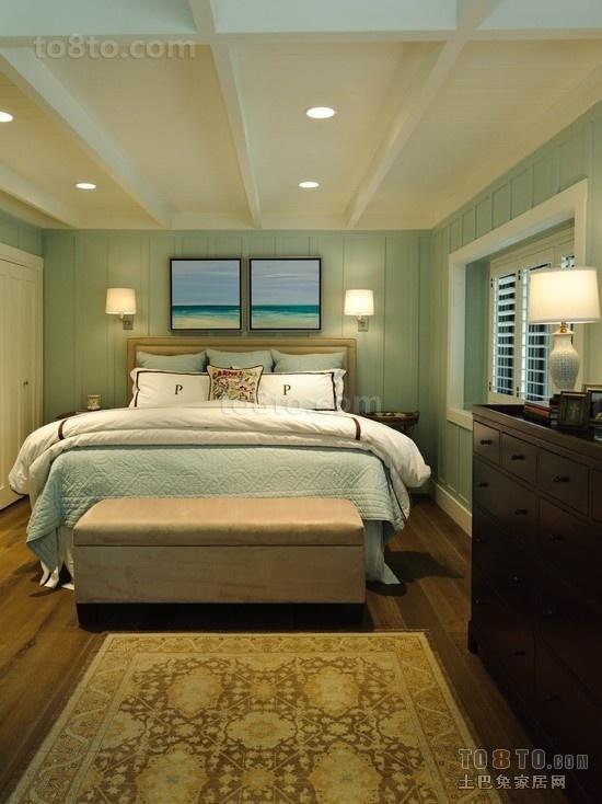 两室两厅小卧室装修效果图大全2014图片