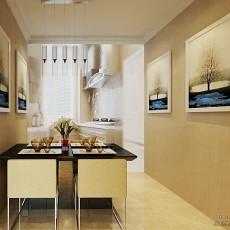 热门106.7平米3室客厅混搭装修效果图片欣赏