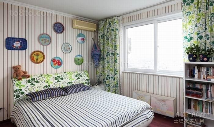 20平卧室装修效果图大全2012图片 欧式田园卧室装修效果图