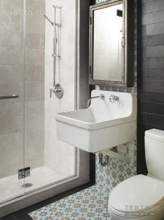 简约小三居卫生间装饰效果图大全2012图片