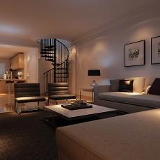 欧式风格房屋精装效果图客厅