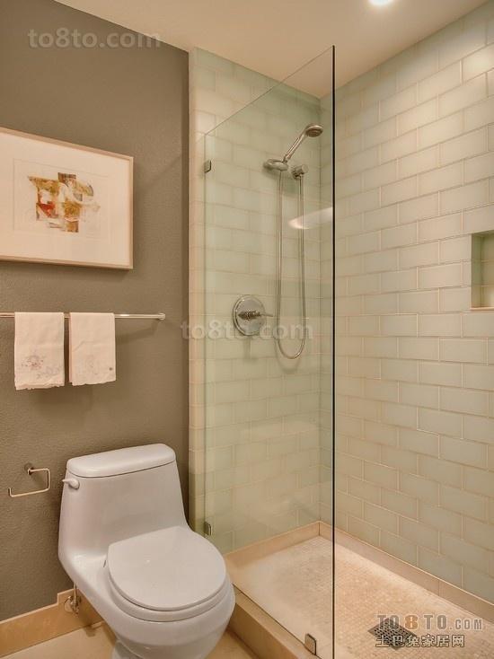 80小户型卫浴洁具图片