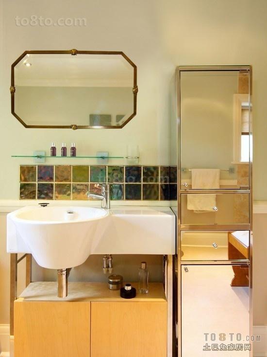 卫生间洗脸盆柜组合图片欣赏
