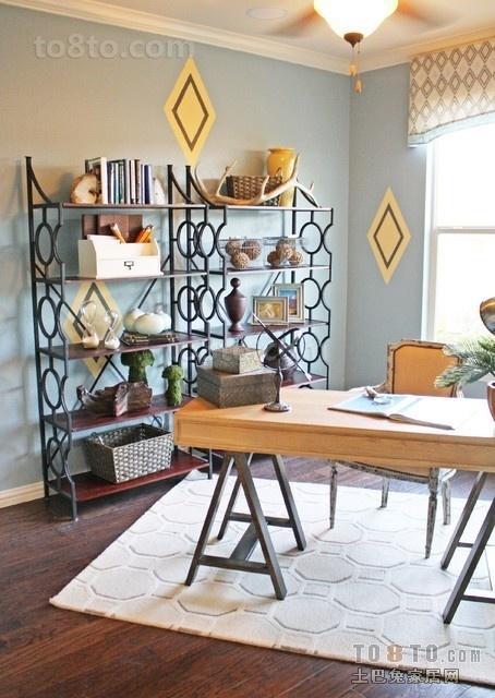 极简书房装修效果图大全2012图片