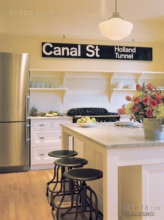 浪漫的厨房装修效果图 做出你的爱心早餐