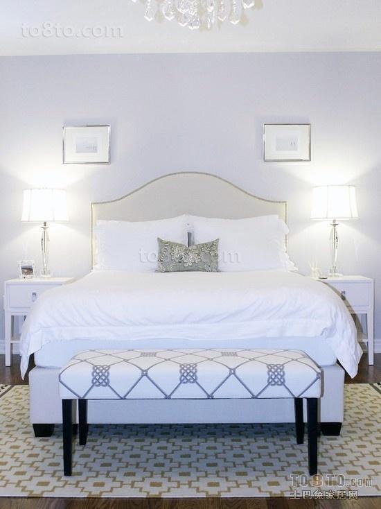 北欧风格主卧室装修效果图片