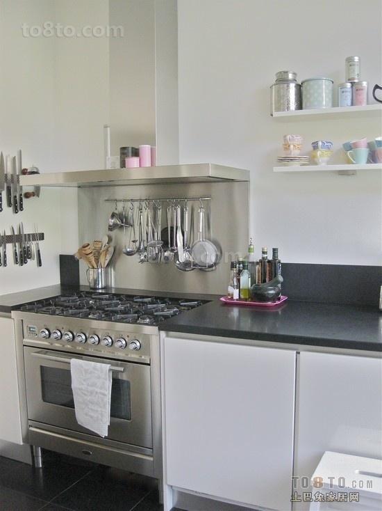 简约欧式厨房装修效果图