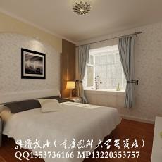 欧式家庭主卧室吊顶装修效果图欣赏