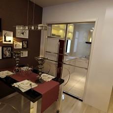 精选91平米三居餐厅欧式装饰图片欣赏