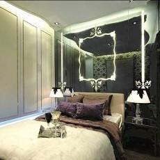 面积96平欧式三居卧室设计效果图