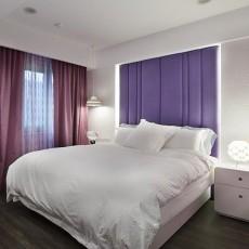 2018大小105平现代三居卧室装修效果图片大全