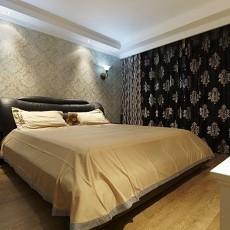 卧室墙纸装修效果图片