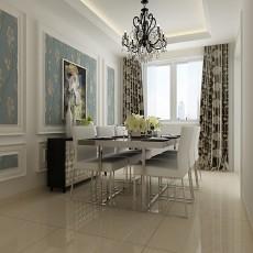 精美欧式二居餐厅装饰图片大全