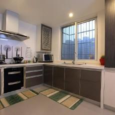 精选73平米现代小户型厨房欣赏图片大全