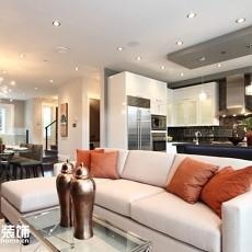 精美101平客厅三居现代装修实景图片欣赏
