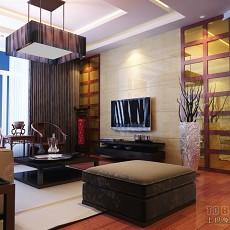 精选中式一居客厅装饰图片欣赏