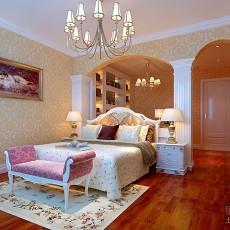 精美102平米三居卧室欧式装修设计效果图片大全