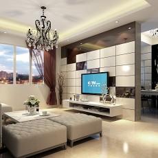 热门二居客厅现代装饰图片