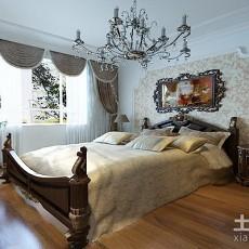 精选面积92平欧式三居卧室装修效果图