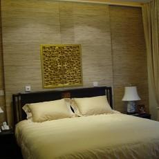 87平米二居卧室中式效果图片欣赏