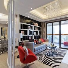精美81平米现代小户型客厅装修欣赏图片大全
