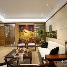 面积91平中式三居客厅装修设计效果图片大全