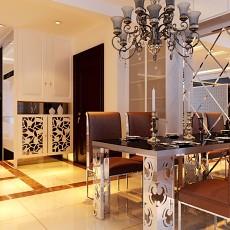 热门大小91平现代三居餐厅装修效果图片欣赏