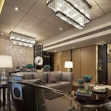 热门90平米二居客厅中式装饰图片