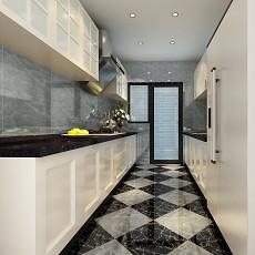 精美面积97平现代三居厨房装修欣赏图片大全