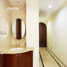 热门小户型卫生间美式效果图