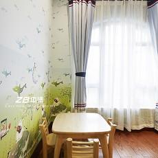 热门71平米现代小户型客厅装修实景图