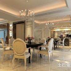 精选面积80平欧式二居餐厅装修实景图片欣赏