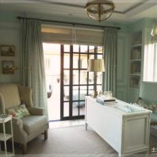 热门地中海小户型书房装修欣赏图片