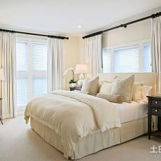 90平米三居卧室欧式装修效果图片