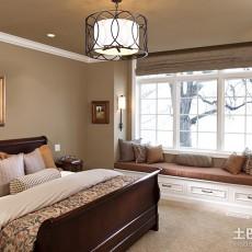面积93平欧式三居卧室装修效果图