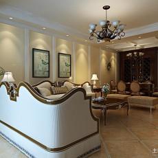 精美别墅客厅欧式效果图