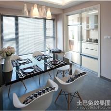 热门118平米四居餐厅欧式装修图片大全