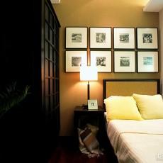 精美97平米三居卧室中式装修设计效果图片大全