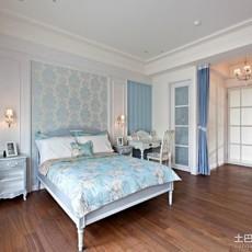 精美93平米三居卧室欧式装饰图片大全