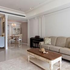 精选91平方三居客厅欧式装修图