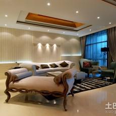 2018精选面积134平现代四居客厅装修欣赏图片