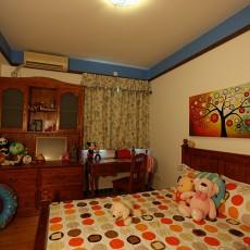 2018面积73平地中海二居儿童房装饰图片大全