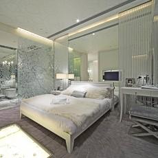 2018精选面积134平别墅卧室欧式装修设计效果图