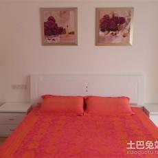精选85平米二居卧室简约装修效果图片大全