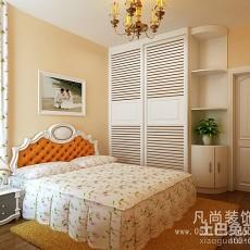 三居卧室田园装修设计效果图片欣赏