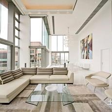 2018精选139平方现代别墅客厅设计效果图