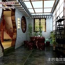 热门中式别墅休闲区装修效果图片大全