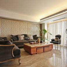 2018面积94平欧式三居客厅装修欣赏图