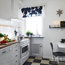 精美面积91平简约三居厨房效果图片大全
