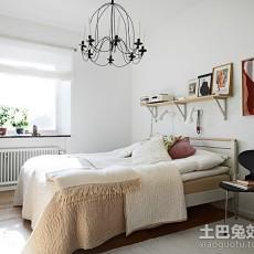 2018精选98平米三居卧室简约装修图片